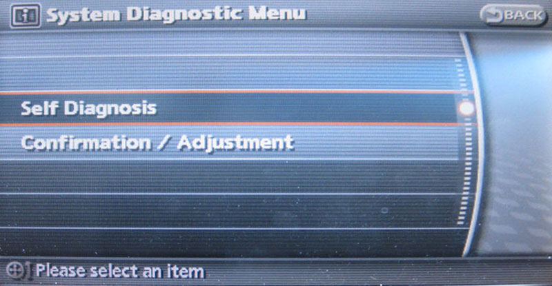 Infiniti G37 Diagnostics