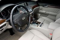 2008 Infiniti M45 interior