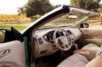 2011 Nissan Murano CrossCabriolet sedan rear