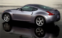 2009 Nissan 370z Rear View
