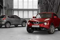 2011 Nissan turbo Juke hatch side view
